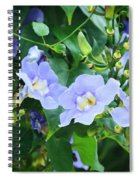 Time For Spring - Floral Art By Sharon Cummings Spiral Notebook