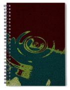 Time Fusion  Spiral Notebook