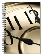 Time Goes By Spiral Notebook