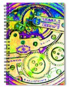 Time In Abstract 20130605m144 Square Spiral Notebook