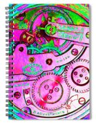 Time In Abstract 20130605p108 Square Spiral Notebook