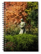 Time In The Garden Spiral Notebook
