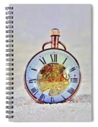 Time In The Sand Spiral Notebook