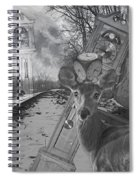 Time Is A Target Spiral Notebook