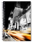 Time Lapse Square Spiral Notebook