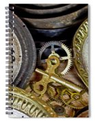 Time Long Gone Spiral Notebook