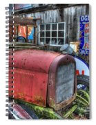 Time Marches On Spiral Notebook