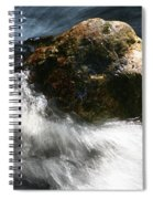 Time Rushing By Spiral Notebook