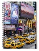 Time Square On A Week Day Spiral Notebook