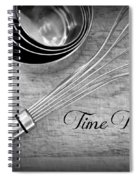 Time To Bake Spiral Notebook