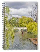 Time To Punt Spiral Notebook