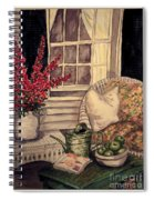 Time To Relax - Within Border Spiral Notebook