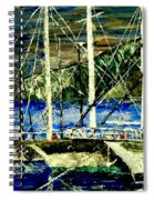 Time To Sail  Spiral Notebook