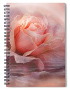 Time To Say Goodbye Rose Spiral Notebook