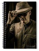 Time Traveler Spiral Notebook