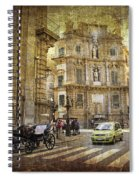 Time Traveling In Palermo - Sicily Spiral Notebook