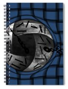 Time Weaves Spiral Notebook