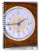 Time Will Tell Spiral Notebook
