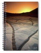 Timeless Death Valley Spiral Notebook