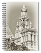 Timeless- New York City Hall Spiral Notebook