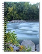Timeless Raindrops Spiral Notebook