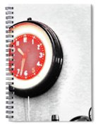 Times Red Spiral Notebook