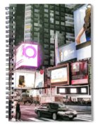 Times Square At Night Spiral Notebook