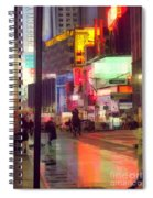Times Square With Runaway Horse Spiral Notebook