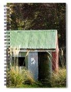 Tin Hut Spiral Notebook