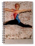 Shelly Ballet Jump Spiral Notebook
