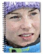 Tina Maze Spiral Notebook