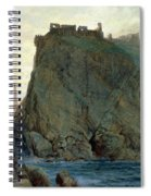 Tintagel On The Cornish Coast Spiral Notebook