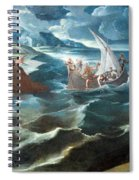 Tintoretto's Christ At The Sea Of Galilee Spiral Notebook