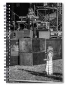Tiny Dreamer Monochrome Spiral Notebook