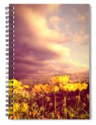 Tiny Flowers Spiral Notebook
