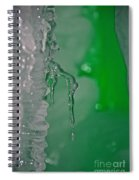 Tiny Icicle Spiral Notebook