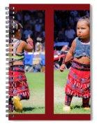 Tiny Jingle Dancer Spiral Notebook