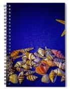 Tiny Sea Shells Spiral Notebook