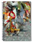 Tiny Tot Dancers Spiral Notebook
