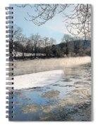 Tioughnioga River Landscape Spiral Notebook