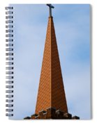 Tip Of The Tall Steeple Spiral Notebook