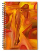 Tip-toeing Nude Spiral Notebook