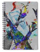 Tippy Tulips Spiral Notebook