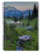 Tipsoo Meadows Spiral Notebook