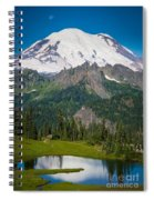 Tipsoo Moonset Spiral Notebook