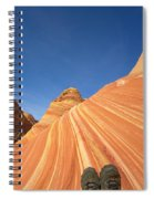 Tired Hiker Paria Wilderness Arizona Spiral Notebook