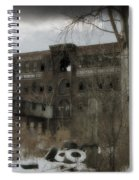 Where All The Tires Go Spiral Notebook