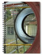 Tires In An Orphanage Spiral Notebook