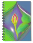 Tis The Last Rose Of Summer Spiral Notebook