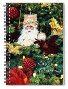Tis The Season - Seasonal Art Spiral Notebook